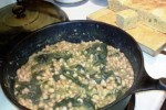 white beans & collard greens